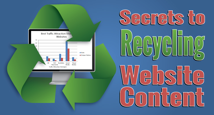 Recycling websites for adults